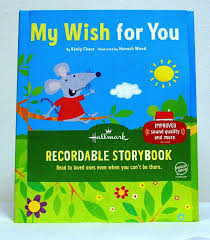 recordable books my wish for you recordable book roby s hallmark