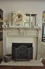 Fireplace Mantels Images by Chalk Paint Fireplace Mantel Vintage Charm Restored