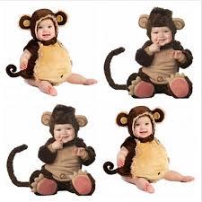 Monkey Halloween Costume Baby Cheap Costume Monkey Baby Kids Aliexpress