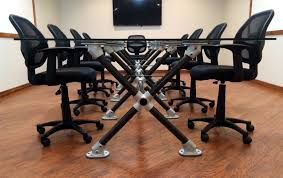 Portable Meeting Table Pipe Conference Table Meeting Table Modern Furniture Ideas Office
