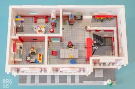 Fire Station Floor Plans Lego Fire Station Moc Boxtoy Co