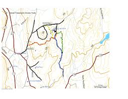 Snowmobile Trail Maps Michigan by Brookline Trail Maps Brookline Nh