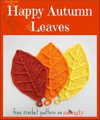 best 25 autumn crochet ideas on pinterest crochet leaves