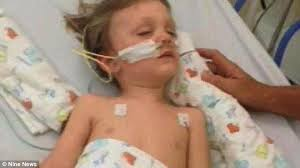 The Book Of Eli Was Eli Blind Queensland Toddler Eli Campbell Left Blind And Paralysed From