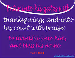 the thanksgiving and praise believeall top faith in