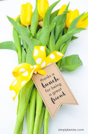 flowers gift thanks a bunch printable gift tags for flowers simply kierste