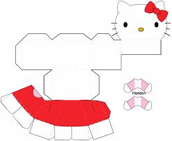 printable hello kitty birthday party ideas hello kitty bouwplaat kinder knutsels pinterest kitty and