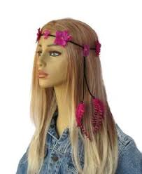 women s hair accessories hippy feather headband braided hippie boho women hair