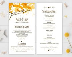 cardstock for wedding programs country wedding programs printed on premium cardstock