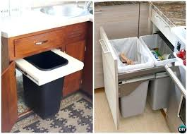 trash cans for kitchen cabinets trash can cabinet best trash can cabinet ideas on cabinet trash can