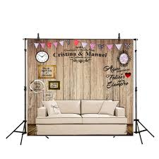 diy wedding backdrop names allenjoy diy wedding photography background wood board