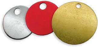coloured key rings images Keyosk product range key accessories key tags engravable discs jpg