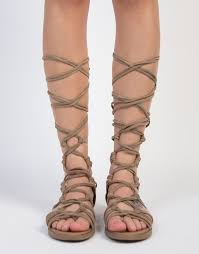 knot it up gladiator sandals suede lace up gladiator sandals