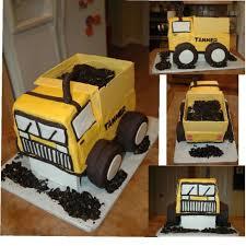 dump truck birthday cake cakecentral com