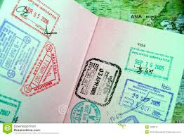 travel passport images Passport with asian travel stamps stock photo image of flight jpg