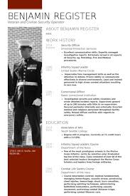 Security Guard Resume Example by Security Resume Samples Visualcv Resume Samples Database
