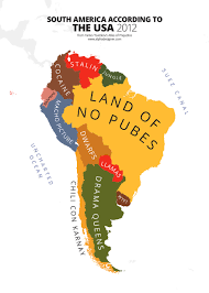 Americas Mood Map by 31 Maps Mocking National Stereotypes Around The World Bored
