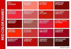list of color list of colors with color names graf1x com