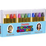 amazon com face paint u0026 body crayons 12 colors non toxic sticks
