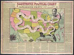 Bad Parts Of Chicago Map When Red Meant Democratic And Blue Was Republican A Brief History