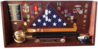 Military Flag Case Cutlass Case Shadowboxes