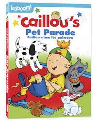 parade dvd caillou s pet parade dvd walmart canada