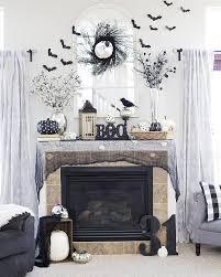 debonair black also g halloween mantel halloween home decor ideas