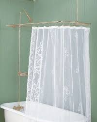 Copper Pipe Shower Curtain Rod 45 Best Shower Parts Curtain Rods Images On Bathroom