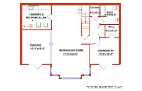 walkout house plans modern house plans small plan with basements open floor porches