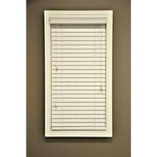 Custom Blinds Atlanta Home Decorators Collection Cut To Width Alabaster 2 In Faux Wood