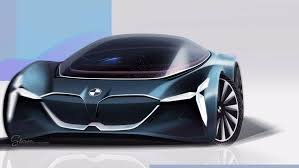 future bmw concept bmw vision grand tourer renders a driverless fully electric future