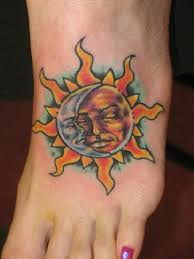 sun tattoos creation and their meaning tatts