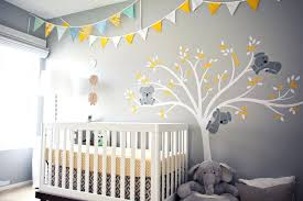 yellow and gray baby shower decorations yellow and grey nursery decor gray koala with bunting