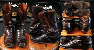motorcycle boots harness motorcycle boots schaeffers garment hotel u0026 the denim repair shop