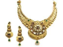 antique necklace set images 98 20g 22kt gold antique necklace set houston texas usa jpg
