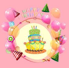 Happy birthday decoration free vector 21 440 Free vector