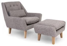 Armchair Ottoman Remarkable Modern Chair Ottoman Florence Knoll Ottoman Chair From
