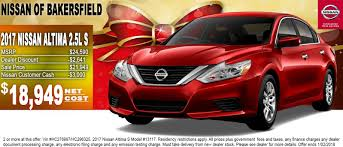 nissan cars 2017 nissan of bakersfield is a nissan dealer selling new and used cars