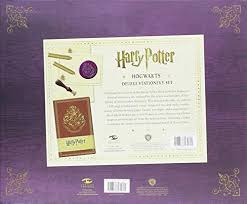 stationery set harry potter hogwarts deluxe stationery set insights deluxe
