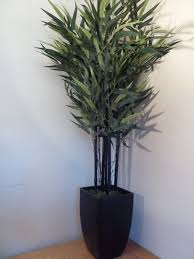 artificial plant 4ft bamboo artificial tree in a stylish pot