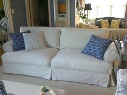 Pottery Barn Slip Cover Slipcovers For Sofas With Back Cushions Pottery Barn Sofa