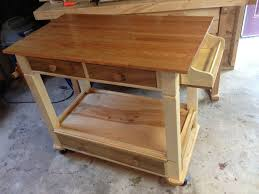 handmade kitchen workstation by all solid wood furniture