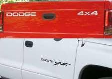 dodge dakota sport decals dodge dakota sport decals ebay