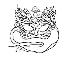 printable mardi gras coloring pages coloring