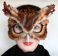 owl mask snow owl specialty custom animal masks animal masks masking and owl