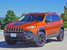 jeep cherokee chief blue 2015 jeep cherokee trailhawk 4x4 road test review carcostcanada