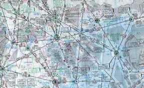 Thessaloniki Greece Map by Thessaloniki Aeroclub Aeronautical Maps
