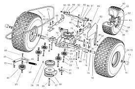 toro parts u2013 190 dh lawn tractor