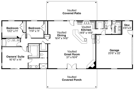 ranch floor plans open concept opent ranch house plans lovely floor home small simple 21