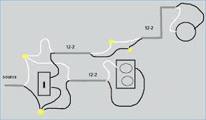 how to wire an outlet from a light switch for adding light switch